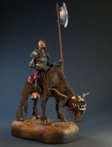 War Cow sculpture by Dug Stanat