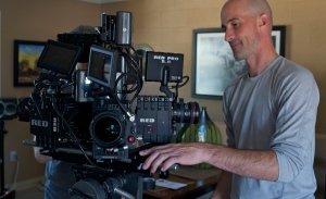 DP Christian Serge with custom surround Rig he developed for Condition One