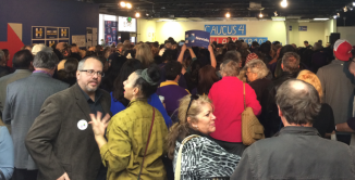 Hillary Supporters at Nevada Caucus 2016